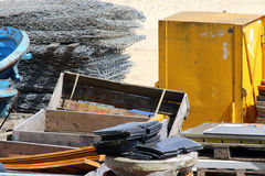 Building materials and storage Stock Photography