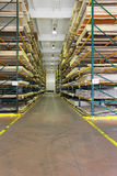 Building materials warehouse Stock Image