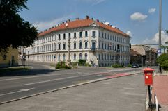 Building of the MAV Board of Directors - Miskolc Royalty Free Stock Image