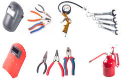 Building and measuring tools Stock Images