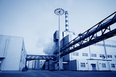Building and mechanical equipment Royalty Free Stock Images