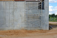 Building metal formwork structures are used in the construction Royalty Free Stock Images