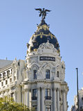 Building Metropolis, Madrid. Metropolis, the most representative Building of Madrid - Spain Stock Photos
