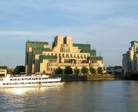 Building of mi6 agency. Building if mi six agency : Secret Intelligence Service Royalty Free Stock Photos