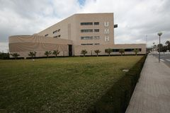 Building of the Miguel Hernández University of Elche. Stock Images