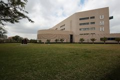 Building of the Miguel Hernández University of Elche. Royalty Free Stock Photography