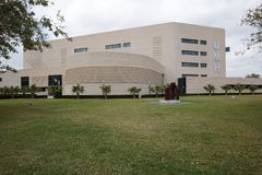Building of the Miguel Hernández University of Elche. Royalty Free Stock Photo