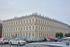 Building of the ministry of agriculture on Moika River in Saint Petersburg, Russia Royalty Free Stock Photography