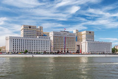 Building of the Ministry of Defense of Russia on Frunzenskaya em Stock Photography