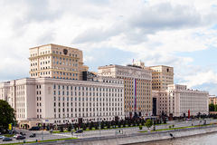 Building of the Ministry of Defense of Russia Royalty Free Stock Images