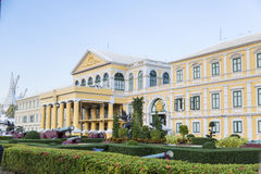 Building of the Ministry of Defense in Thailand Royalty Free Stock Photos