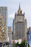 Building of ministry of foreign affairs, Moscow Stock Image