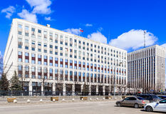 The building of the Ministry of Internal Affairs of the Russian Federation Stock Images