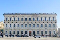 Building of the Ministry of State Property  in St. Petersburg Stock Images