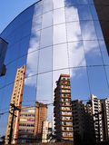 Building mirror stock images