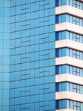 Building mirror glass wall Royalty Free Stock Image