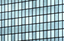 Building mirror glass wall Royalty Free Stock Photo