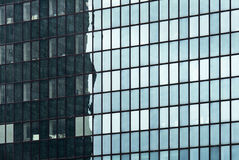 Building mirror glass wall Stock Photo