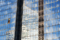 Building mirror glass wall Stock Image