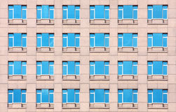 Building mirror pattern Royalty Free Stock Photography