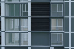 Building. This is a modern Condominium building Stock Photos