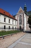 Building of Monastery in Brno Stock Photography