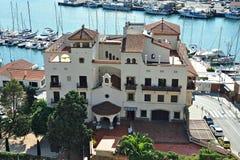 Building Montcalvari-Arenys de Mar Stock Images
