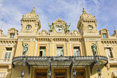 Building of Monte Carlo Casino Royalty Free Stock Photography