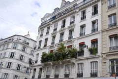 Building in Montmartre in Paris Royalty Free Stock Image