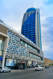 Building of multifunctional complex Azur. Baku Stock Image