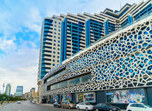 Building of multifunctional complex Azur. Baku Royalty Free Stock Images