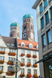 Building in munich city center Royalty Free Stock Images
