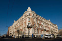 Building on the museum area in Saratov.