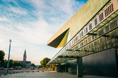 Building of music hall music centre in Helsinki Royalty Free Stock Photos