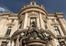 Building of the National academy of music and Grand opera in Paris Royalty Free Stock Image