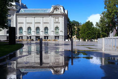 The building of the National Art Museum in Riga Royalty Free Stock Images