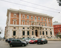Building of the National Bank Banca d Italia in the center of Ba Royalty Free Stock Photo