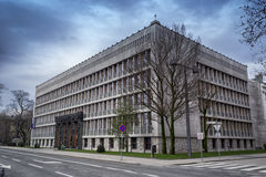 The building of national parliament in Slovenia Royalty Free Stock Photos