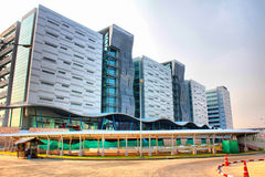 Building. The National Science and Technology Development Agency (NSTDA) reflects the Thai government's deep commitment to apply scientific and technological Stock Photo
