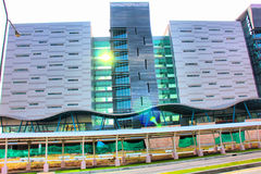 Building. The National Science and Technology Development Agency (NSTDA) reflects the Thai government's deep commitment to apply scientific and technological Royalty Free Stock Image