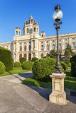 Building of the Natural History Museum in Vienna, Austria Royalty Free Stock Photos