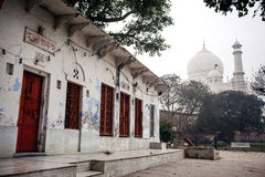 Building near Taj Mahal Palace in Agra Stock Photo