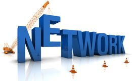 Building a Network Stock Image