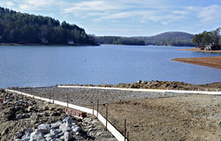 Building a New Boat Ramp royalty free stock photography