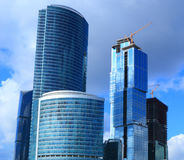 Building of new business-center Royalty Free Stock Image