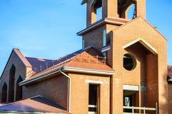 Building the new christian church Royalty Free Stock Photos