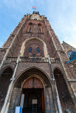 The building of the new Church in Delft, Netherlands Royalty Free Stock Images