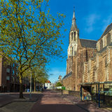 The building of the new Church in Delft, Netherlands Stock Photo