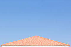 Building a new roof of home Royalty Free Stock Photography