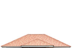 Building a new roof of home Royalty Free Stock Photos